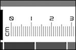 Echelles pouces et centimètres